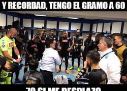Enlace a Maradona y sus consejos antes del Real Madrid-Nápoles