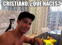 Enlace a Mientras tanto Cristiano Ronaldo...