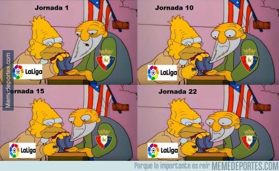 949091 - Evolución de Osasuna en LaLiga Santander