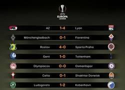 Enlace a Resultados de la Europa League