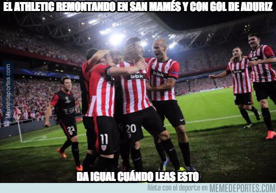 949185 - El Athletic remontando en San Mamés y con gol de Aduriz