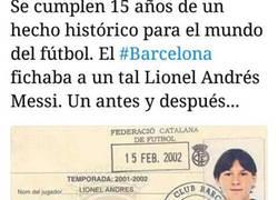 Enlace a El miércoles se cumplieron 15 años de un día histórico para el fútbol