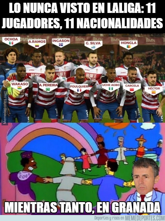 949374 - Lo nunca visto en Laliga: 11 jugadores, 11 nacionalidades