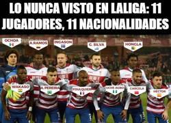 Enlace a Lo nunca visto en Laliga: 11 jugadores, 11 nacionalidades