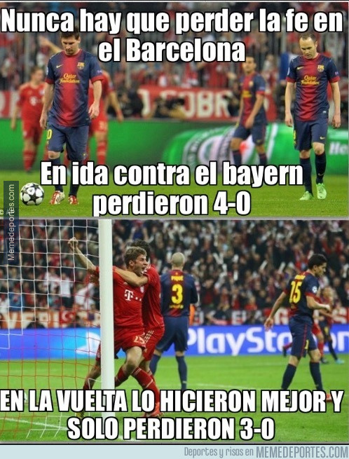 949390 - Nunca hay que perder la fe en el Barça