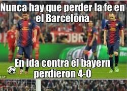 Enlace a Nunca hay que perder la fe en el Barça