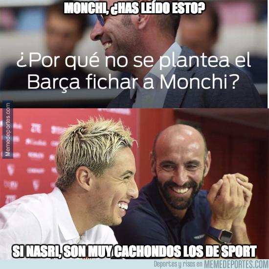 949627 - ¿El Barça a por Monchi?