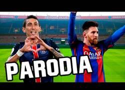 Enlace a Crean la canción de la humillación del PSG al Barça por 4-0 que te hará partir de risa