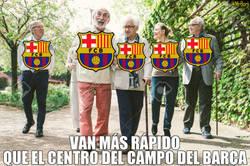 Enlace a El ritmo del centro del campo del Barcelona es BASTANTE lento