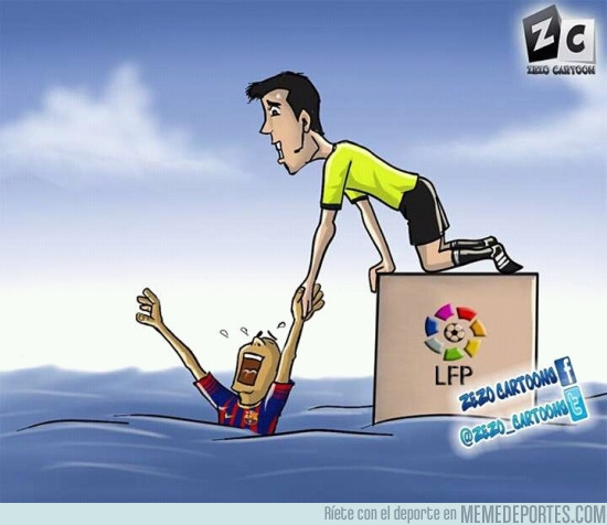 949897 - Descripción gráfica del Barça en Liga