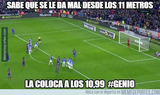 950059 - El truco de Messi para no fallar ningún penalti más
