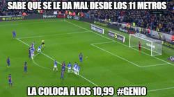 Enlace a El truco de Messi para no fallar ningún penalti más