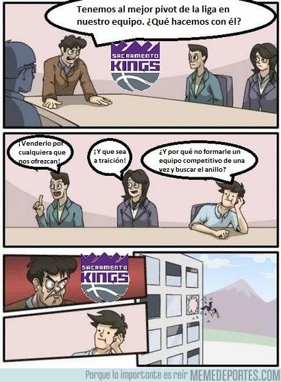 950161 - Esto pasó en las oficinas de los Kings con Cousins