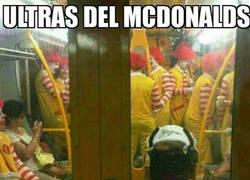 Enlace a Ultras de McDonalds en busca de los de Burger King