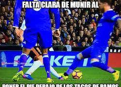 Enlace a El Valencia robando al Real Madrid