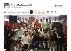 Enlace a Los insultos de madridistas a Álvaro Medrán (Ex Madrid) por celebrar la victoria del Valencia)