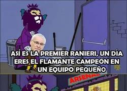 Enlace a Duro castigo para Ranieri