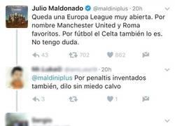 Enlace a Peleas entre haters y fans de Maldini. Esto es twitter