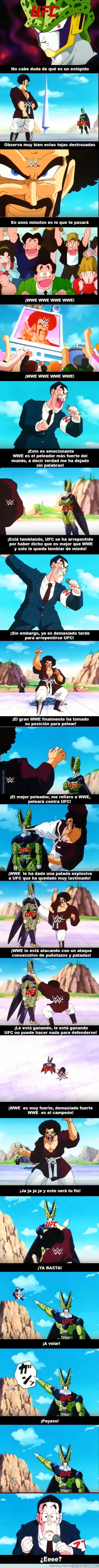 951101 - UFC vs WWE: la batalla final