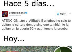 Enlace a Cristóbal Soria ha quedado retratadísimo en pocos días