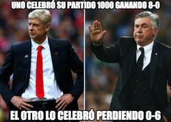 Enlace a Mucha diferencia entre Ancelotti y Wenger...