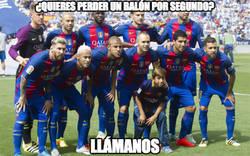 Enlace a Un descontrol el centro del campo del Barça