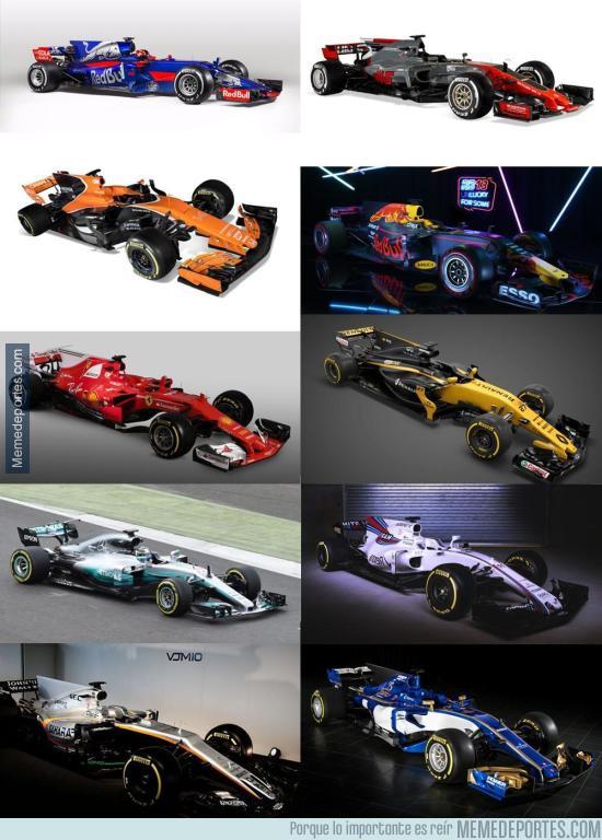951673 - Señoras y señores, la parrilla de la F1 de este año