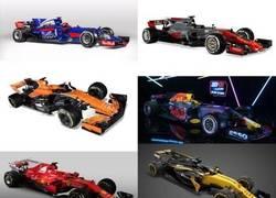 Enlace a Señoras y señores, la parrilla de la F1 de este año