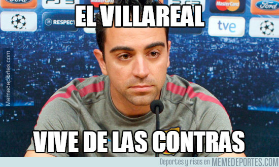 951683 - Xavi viendo el estilo de juego del Villarreal