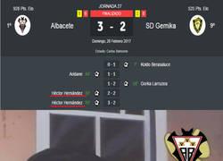 Enlace a El Albacete salva los muebles en los últimos minutos