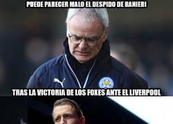 Enlace a El despido de Ranieri no es tan malo...