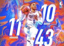 Enlace a Westbrook consigue su 30º Triple-Doble de la temporada
