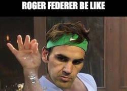 Enlace a Roger Federer, la elegancia personificada