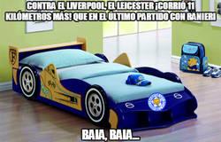 Enlace a Contra el Liverpool, el Leicester ¡corrió 11 kilómetros más! que en el último partido con Ranie