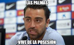Enlace a Xavi está atento al juego de Las Palmas