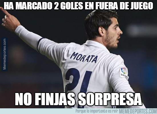 952789 - Morata es pichichi, con goles en fuera de juego