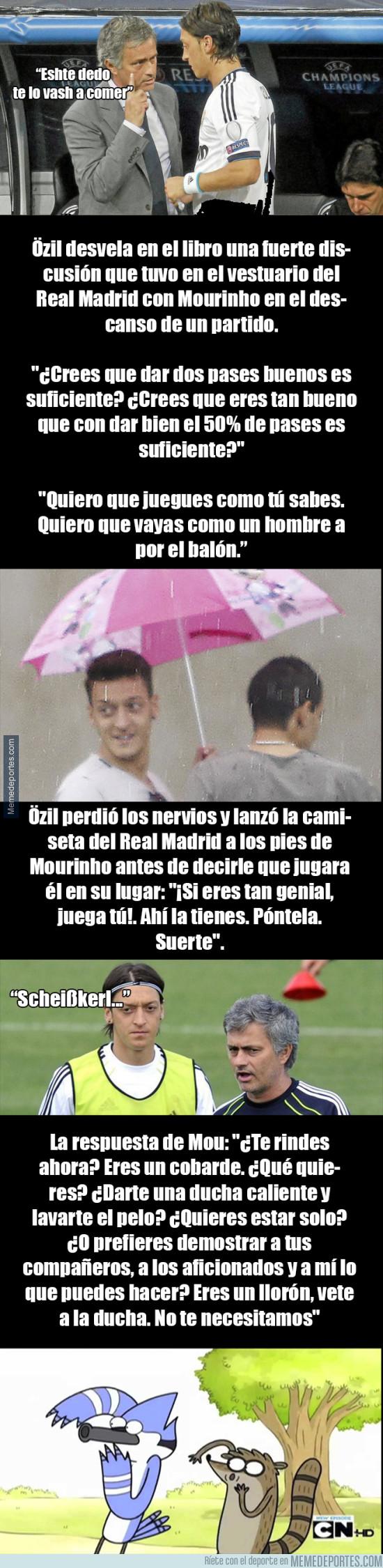 953203 - La gran pelea entre Özil y Mourinho en el vestuario del Real Madrid que narra el alemán en su libr