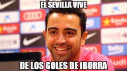 Enlace a Xavi siempre atento a la Liga