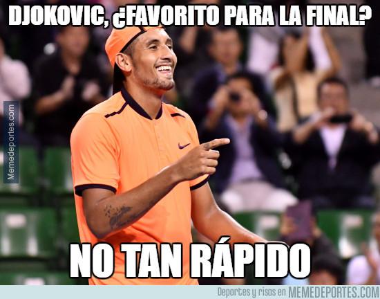 953338 - Kyrgios da la sorpresa del torneo al batir a Djokovic