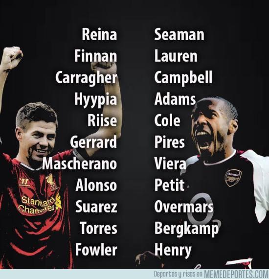 953390 - Mañana se juega un clásico inglés. Aquí un 11 de los mejores de cada equipo, ¿quién ganaría?