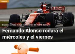Enlace a Los tests de McLaren de la semana que viene