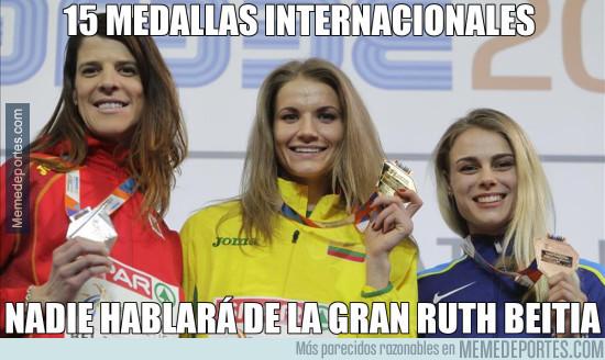 953842 - Ruth Beitia, plata en los Europeos de atletismo