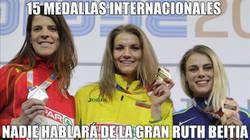 Enlace a Ruth Beitia, plata en los Europeos de atletismo