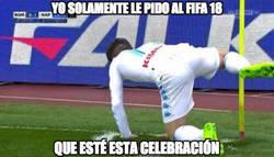 Enlace a Mi único deseo para el próximo FIFA