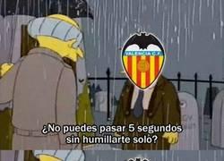 Enlace a El Valencia tras perder con el Atleti
