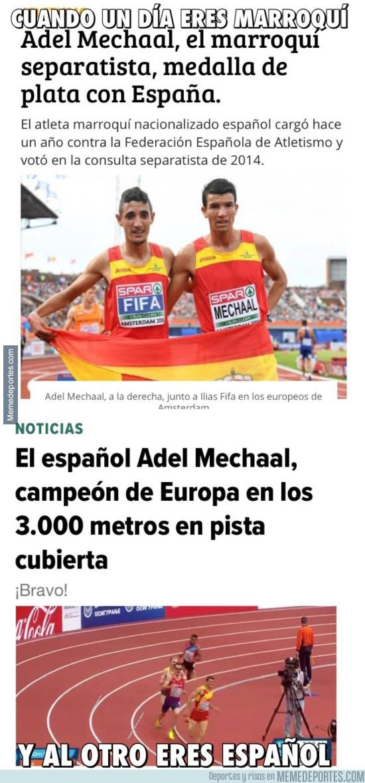954112 - Depende de lo que no interese eres marroquí-catalán independentista o español