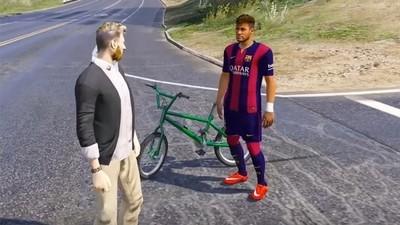 954238 - Ahora puedes jugar con Messi y Neymar en el GTA con este truco
