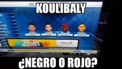 Enlace a Esa mezcla rara de Koulibaly