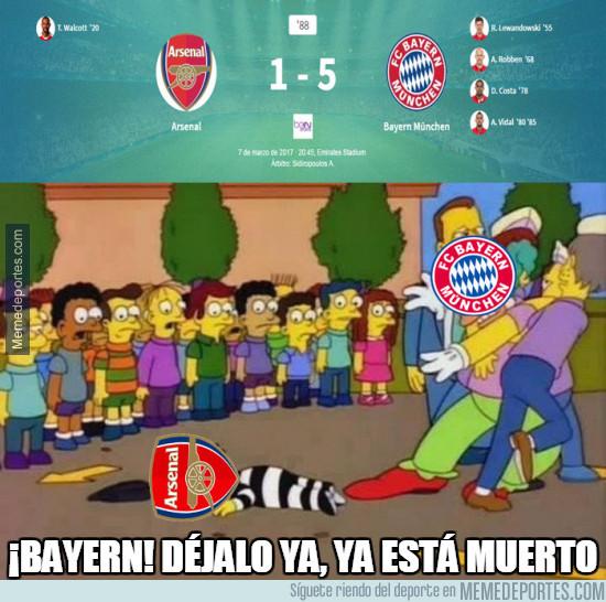 954705 - El Bayern ha terminado cruelmente con el Arsenal