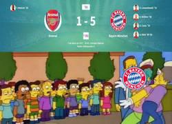 Enlace a El Bayern ha terminado cruelmente con el Arsenal